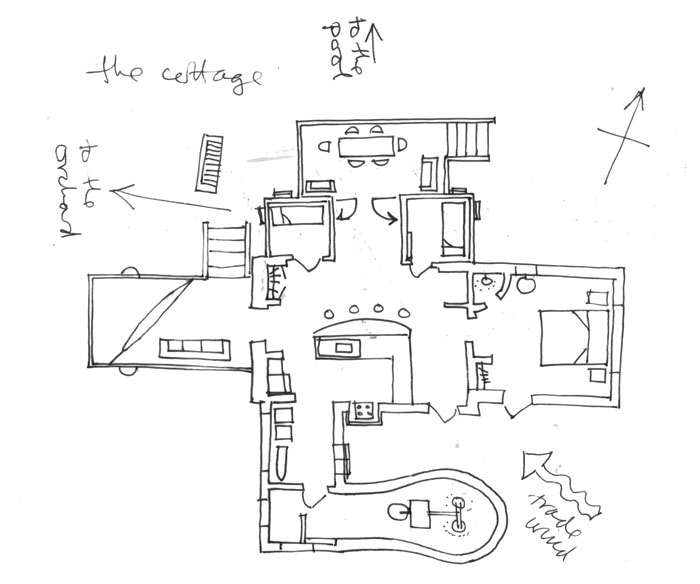 villa plans0001 The Cottage